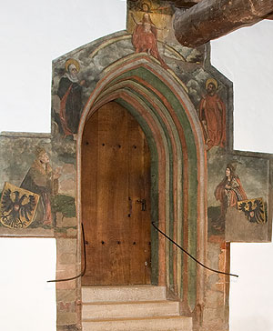 Picture: Portal leading to the Imperial Chapel
