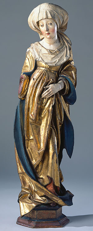 Picture: Figure of St Kunigunde, Imperial Chapel